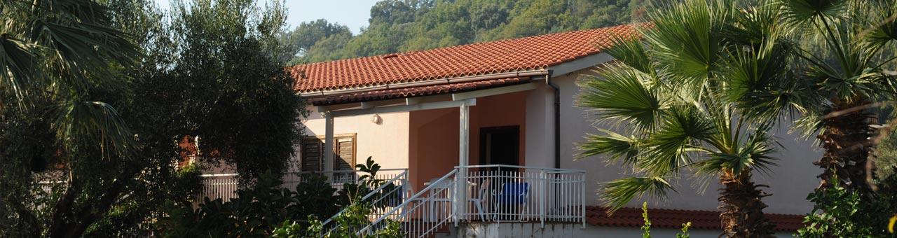 Appartamento con terrazzo a Palinuro