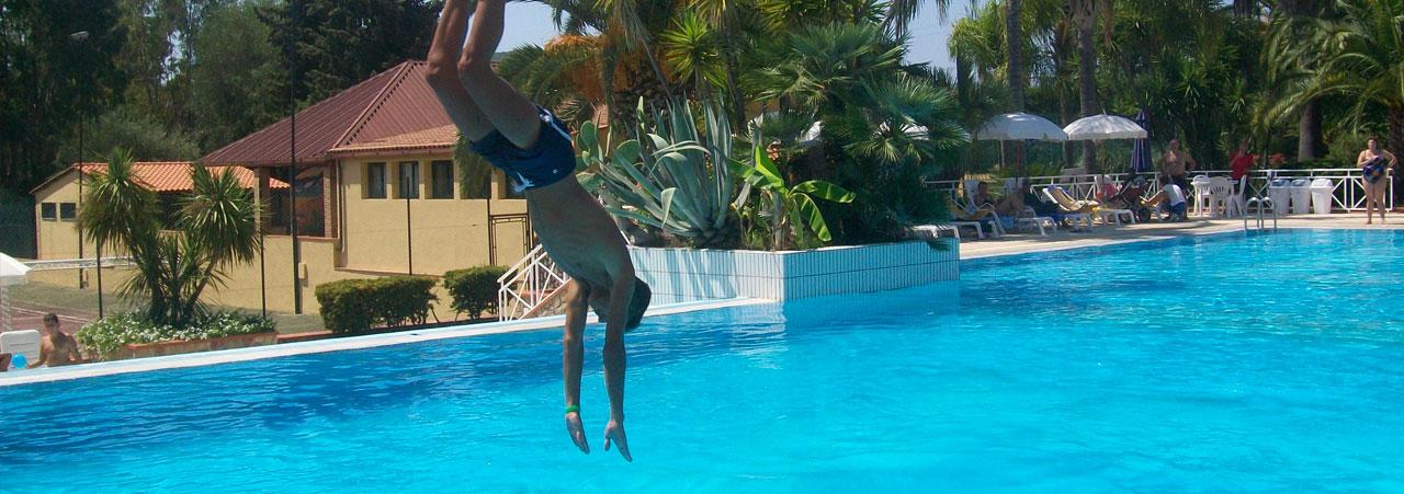 Villaggio con piscina Palinuro