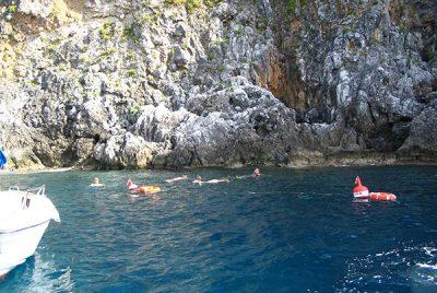 Snorkeling Capo Palinuro