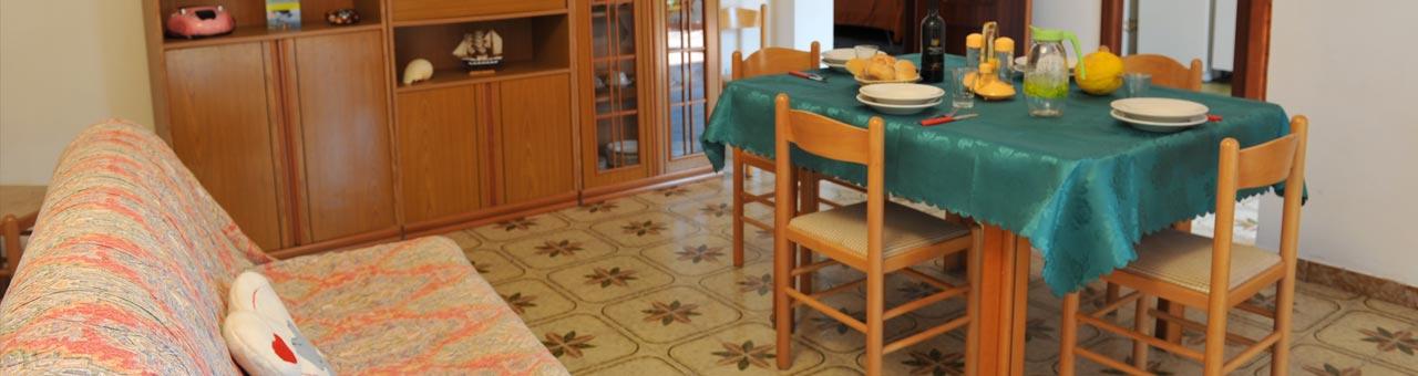 Trilocale Palinuro con soggiorno pranzo