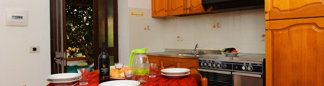 Casa vacanze a Palinuro trilocale 4 posti