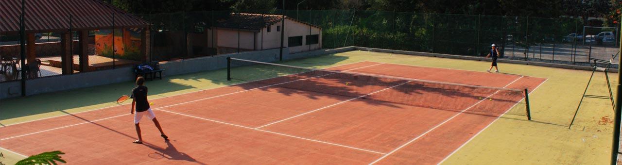 Campo da tennis Residence Trivento
