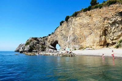 Arco Naturale - spiagge di palinuro