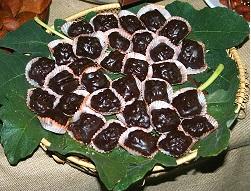fichi cilentani al cioccolato